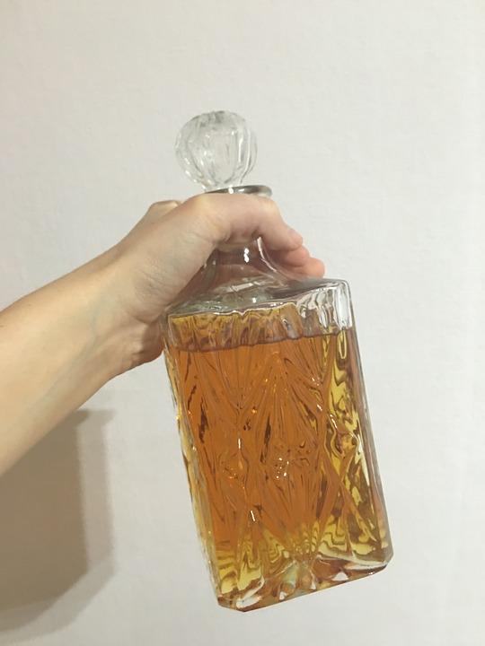 Carafe cristal whisky