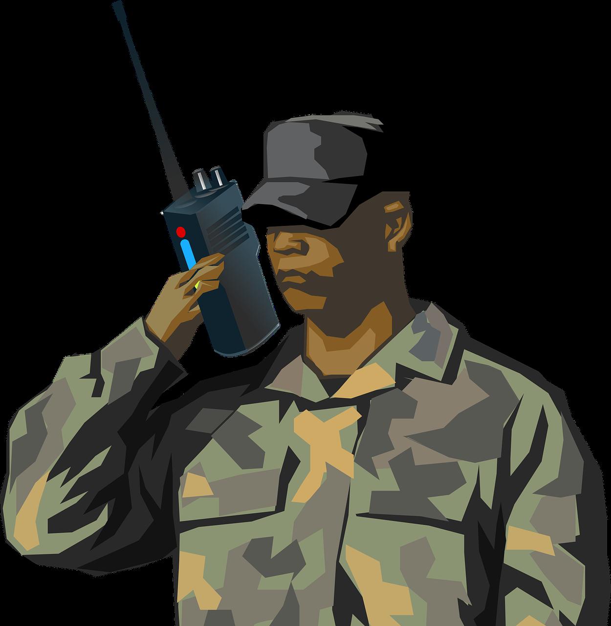 dessin soldat